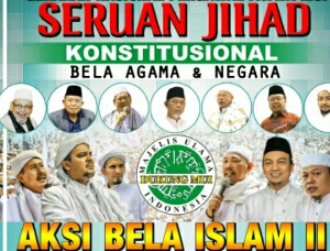 demo bela islam 4 november