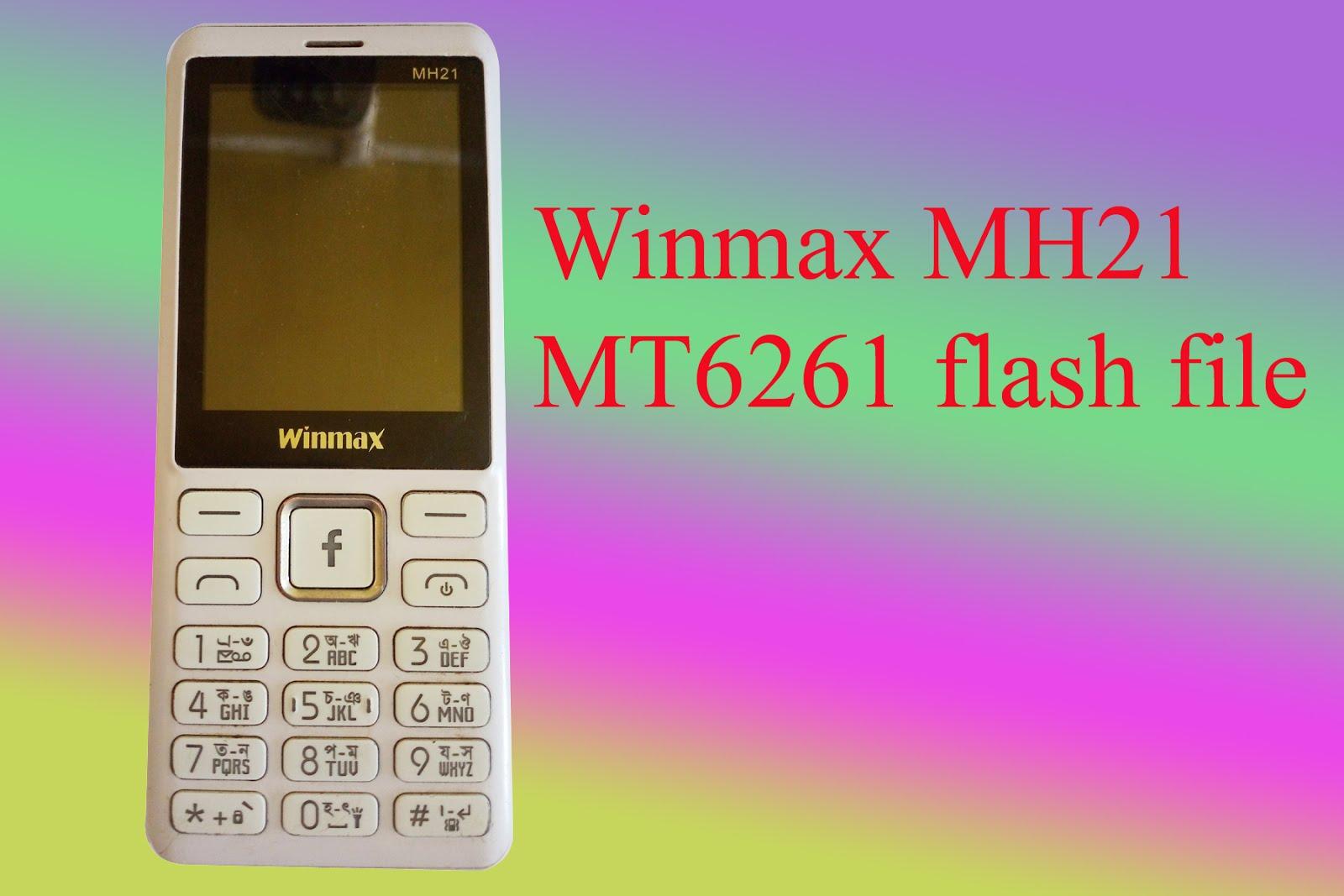 Winmax MH21 firmware