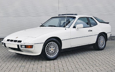 Porsche 924 turbo, released in 1978 added some performance to the 924 range