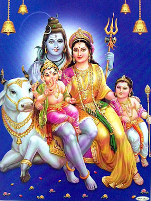 Lord Shiva Parvati Family Photos