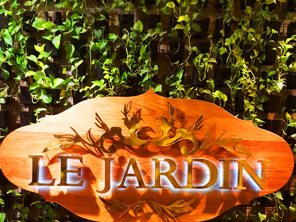 Upscale Lunch at Le Jardin French Restaurant