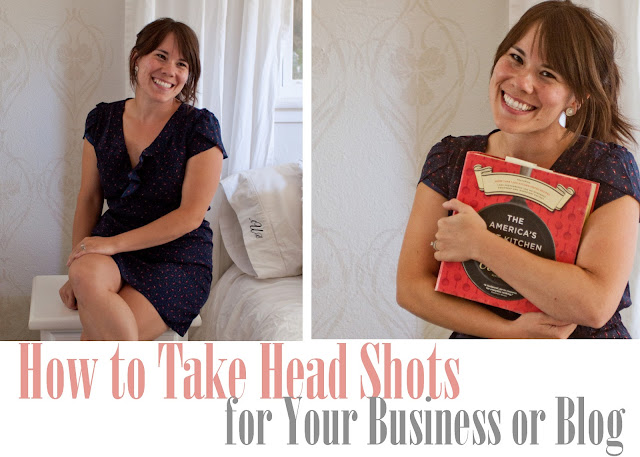How to take head shots for your business or blog
