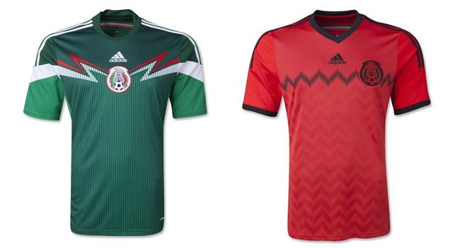 Camisetas selección México Mundial 2014