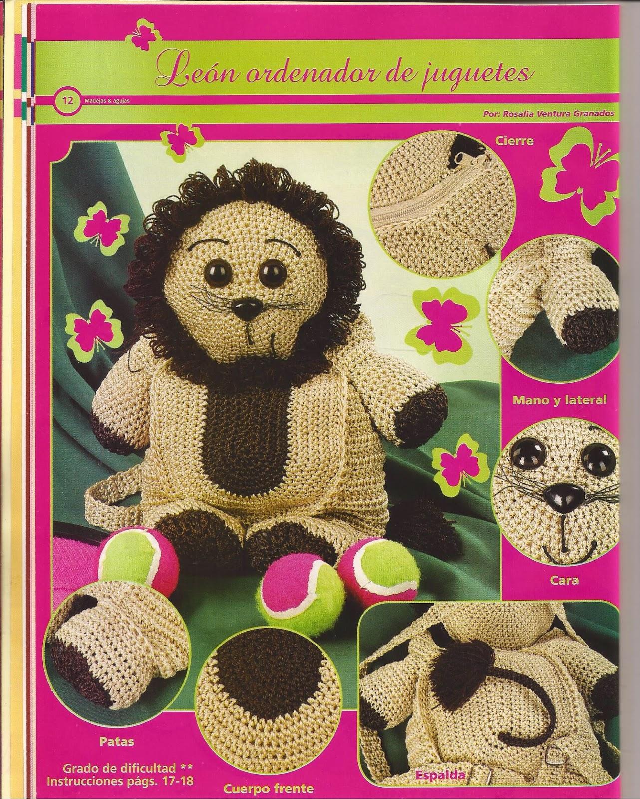 como hacer juguetes en crochet - Revistas de crochet y tejidos gratis