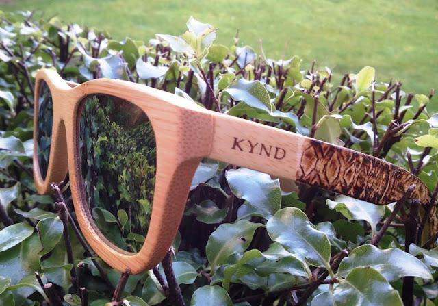 Kynd Bamboo Polarized Sunglasses Uv 400 Rated!