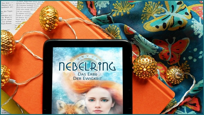 Rezension Das Erbe der Ewigkeit Nebelring Pentalogie Finale Band 5 I. Reen Bow im.press Coverlove Fuchs High Fantasy