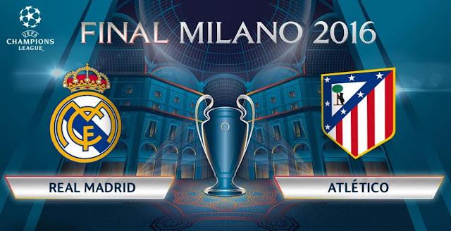 La finale de la ligue des champions opposera le Real Madrid à l'Atlético Madrid