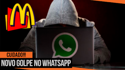 Cuidado: Cupom Falso do McDolad's NOVO GOLPE no WhatsApp