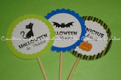 toppers personalizados halloween