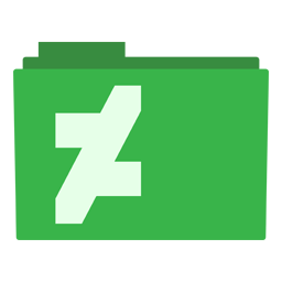 Preview of Deviant Art Green Design folder icon