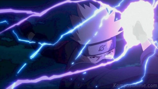 Jutsu Raiton Baru Kakashi Hatake di Anime Boruto