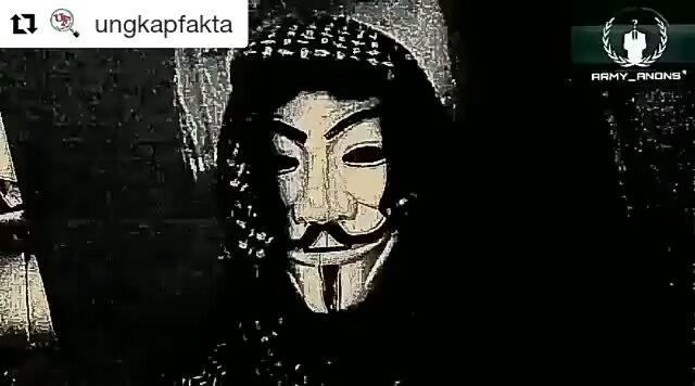 Hasil gambar untuk Tak Terima di Fitnah, Ini Yang Akan di Lakukan Anonymous