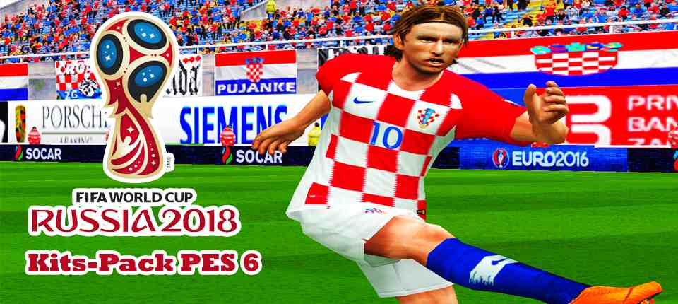 a36401b56ca PES 6 FIFA World Cup 2018 Russia Full Kitpack vol.1