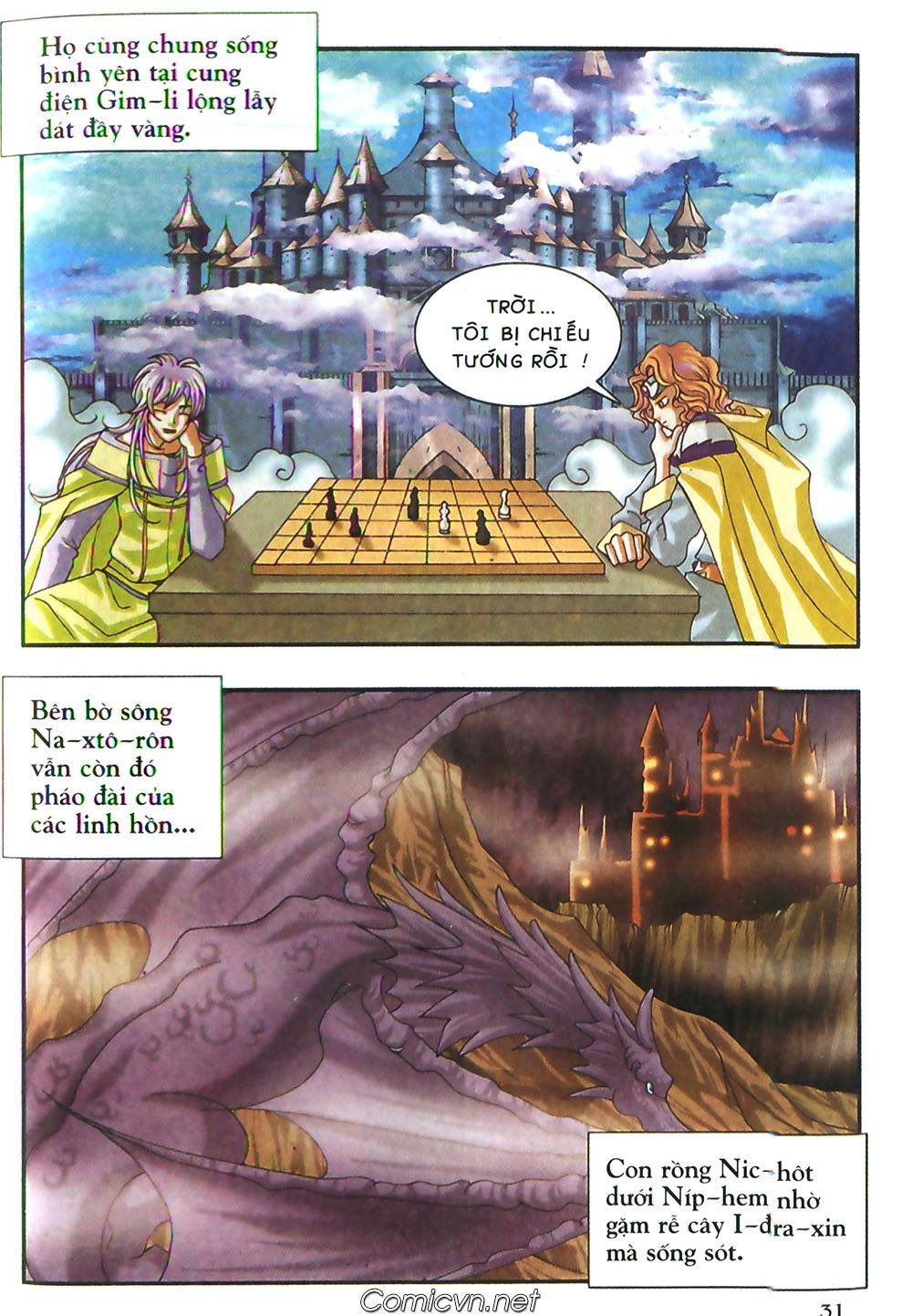 Thần thoại Bắc Âu - Chapter 49: Một thế giới mới - Pic 32