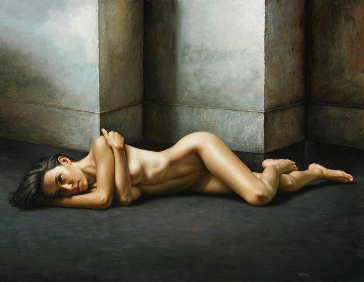Omar Ortiz 1977 | Mexican Hyperrealist Figurative painter