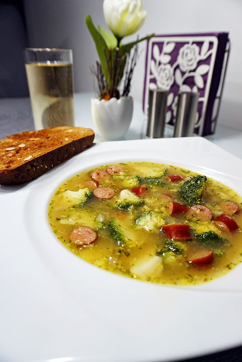 Brokkoli-Eintopf mit Cabanossi