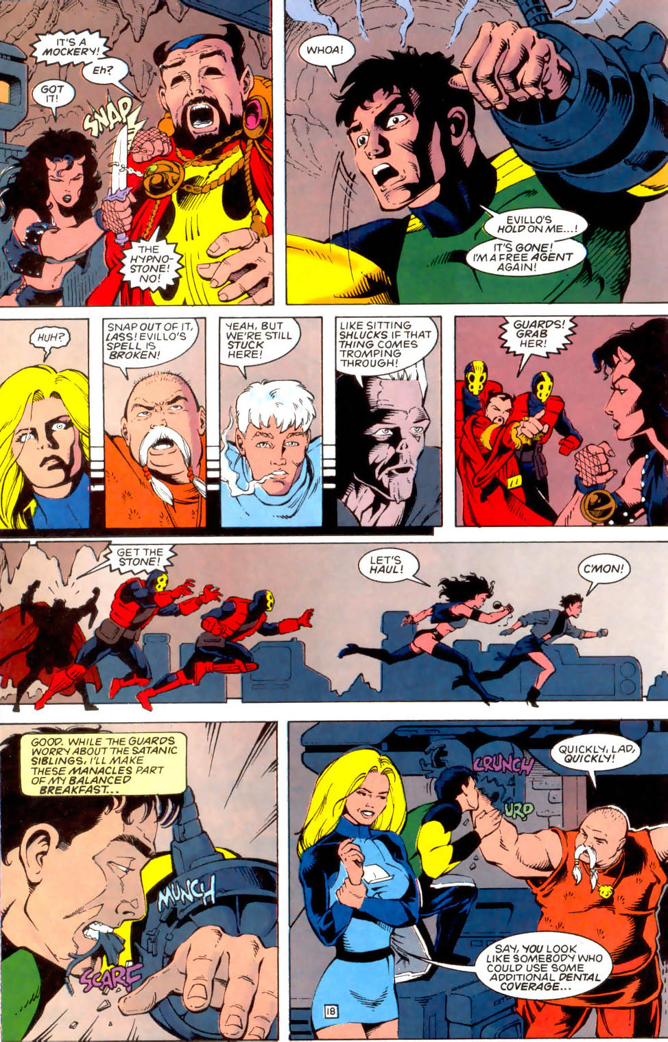 Legion of Super-Heroes (1989) 49 Page 18
