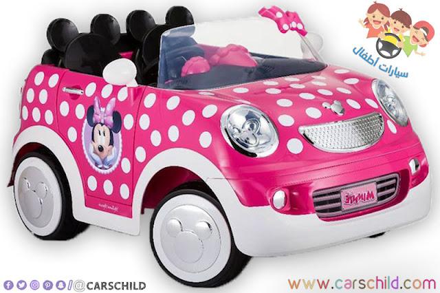 سيارة بنات صغار من نوع ميكي ماوس