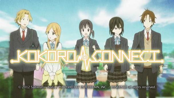 Kokoro Connect - Daftar Anime Romance School Terbaik Sepanjang Masa