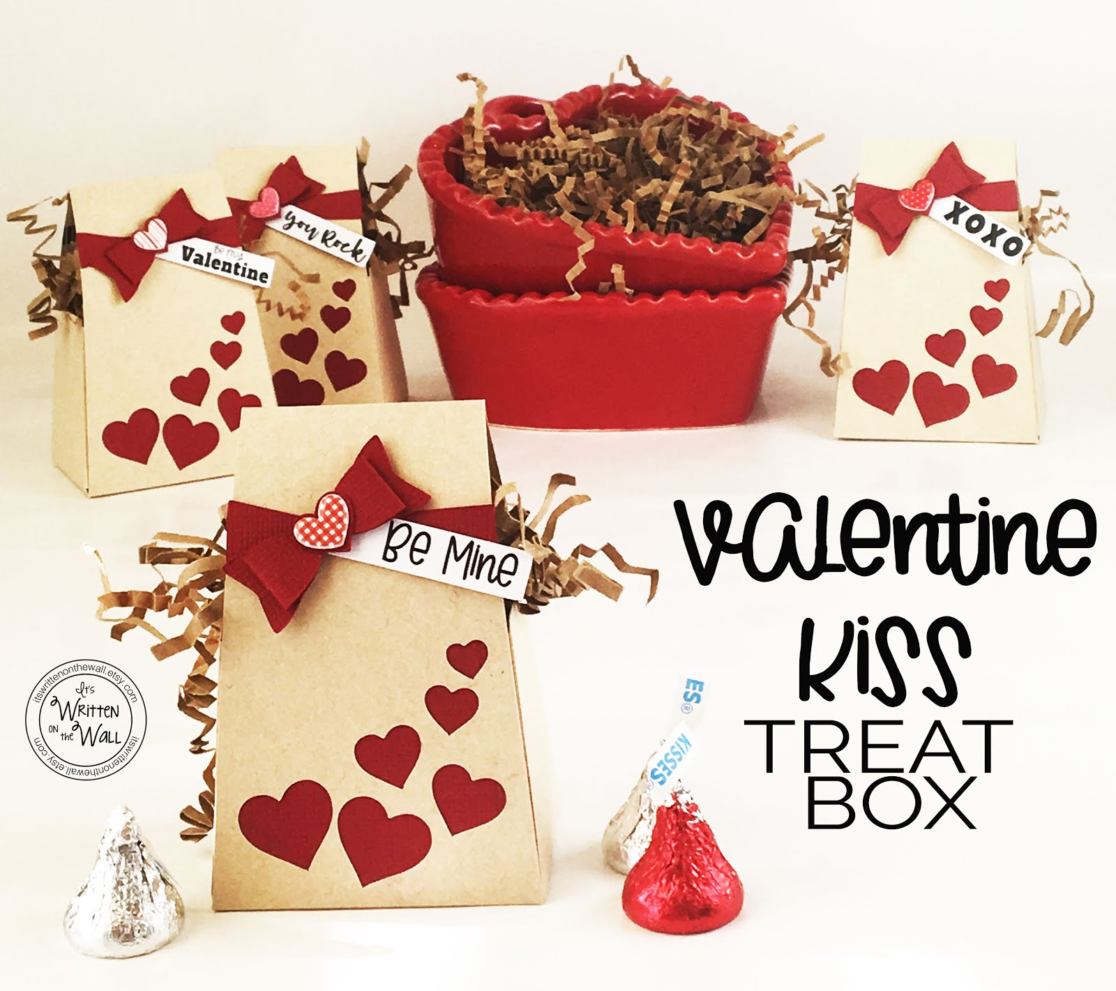 Valentine Treat Box & Gift