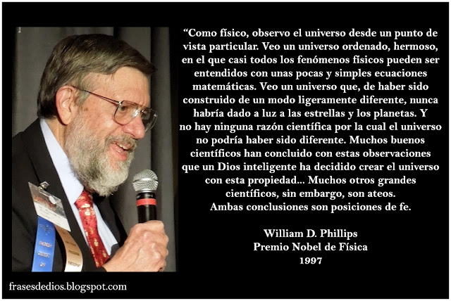 frases ciencia y dios william daniel phillips