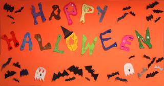"""Mural """"Happy Halloween"""" 6º A y B"""