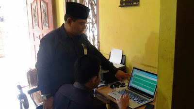 Kemenag Tanjungbalai Laksanakan Monitoring KUA Triwulan III