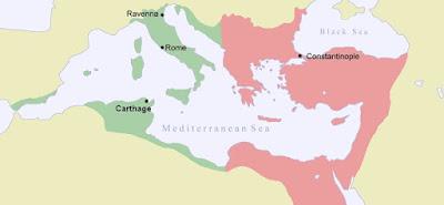 bizans haritası