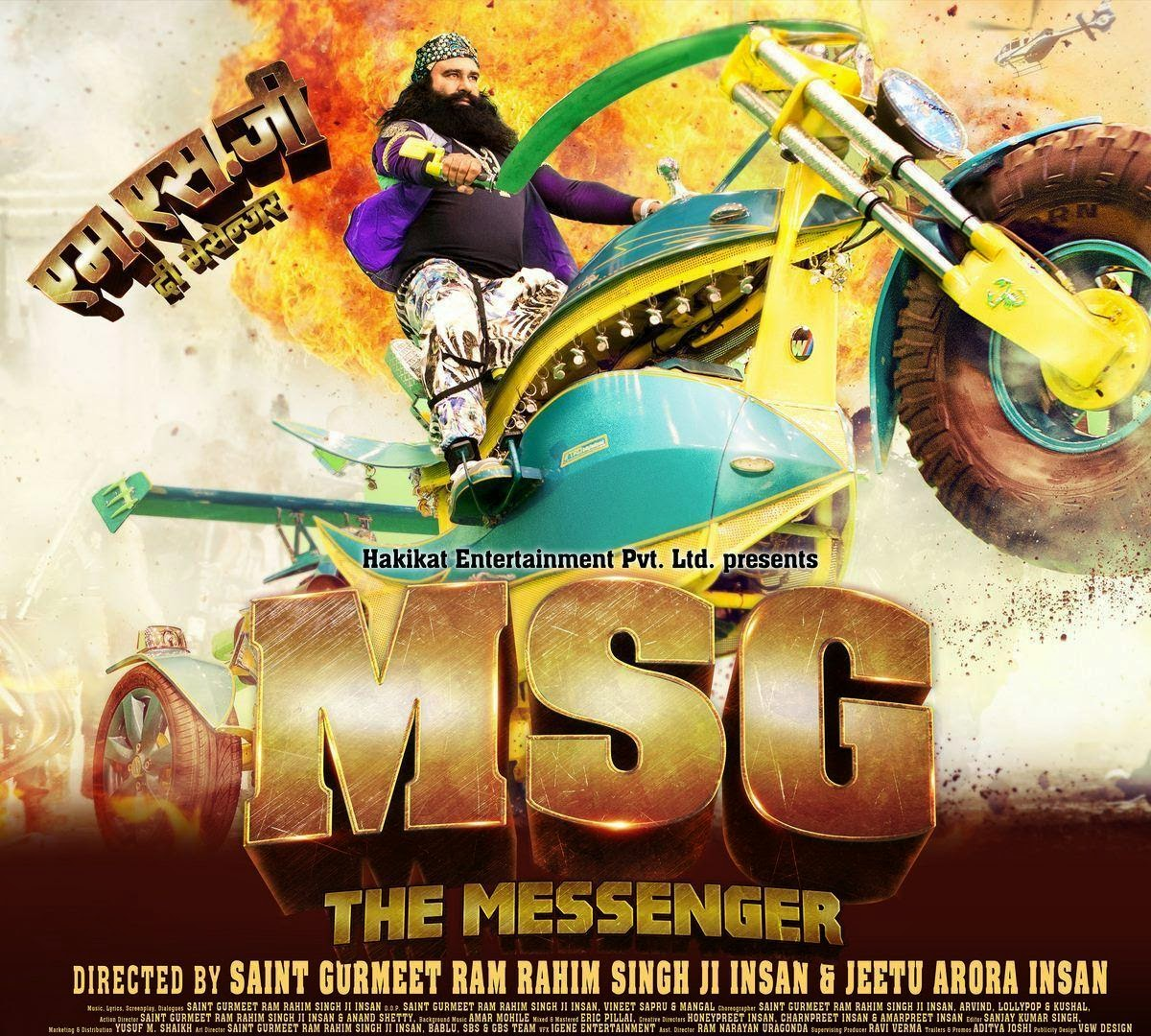 Sachin Chatte: Film Review - MSG The Messenger
