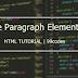 HTML Paragraph Element | 99codes