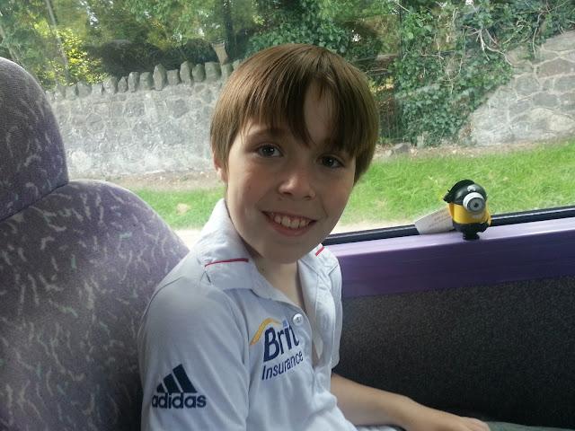 Boy on Bus
