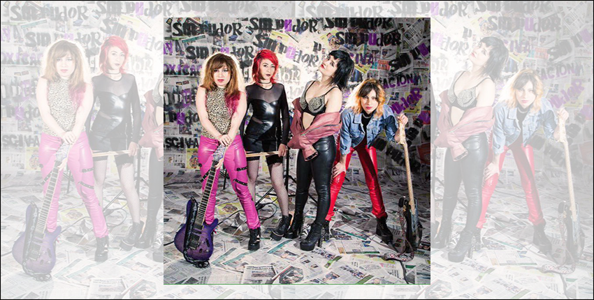 Sin Pudor Revista Urbana Punk Rock Femenino Mujeres Artistas Cantantes