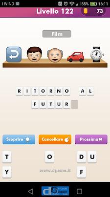 Emoji Quiz soluzione livello 122