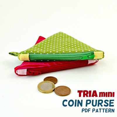 TRIA Coin Purse Pattern