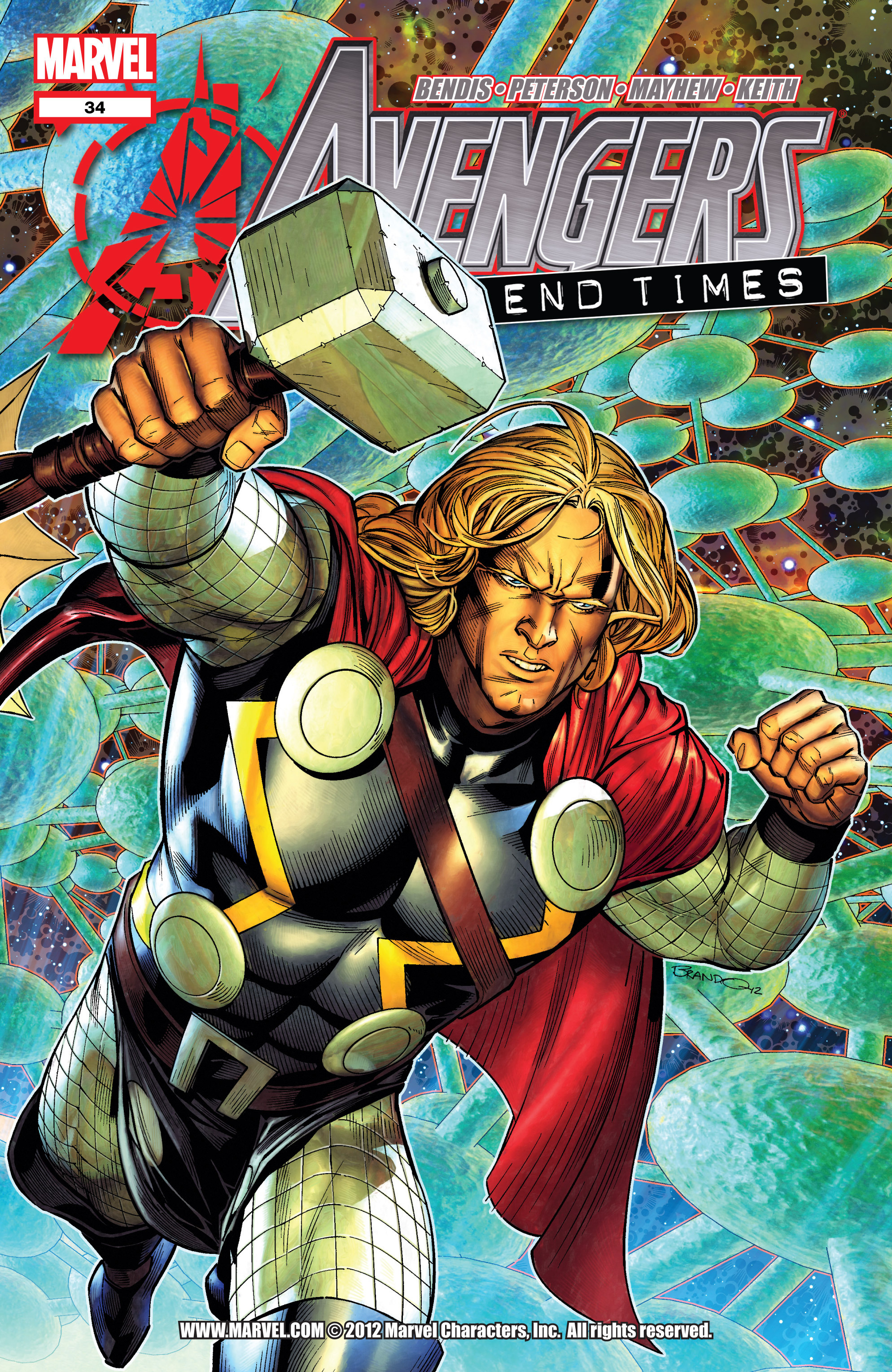 Read online Avengers (2010) comic -  Issue #34 - 1