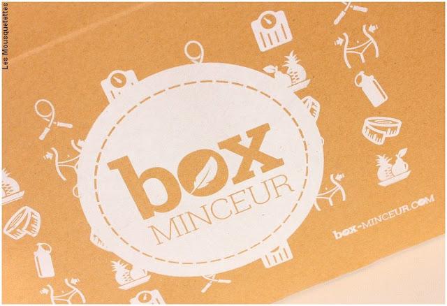 Box beauté Minceur - Ouverture sur le blog
