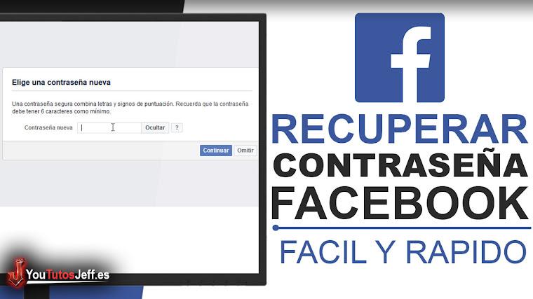 Como Recuperar la Contraseña de Facebook - Trucos Facebook