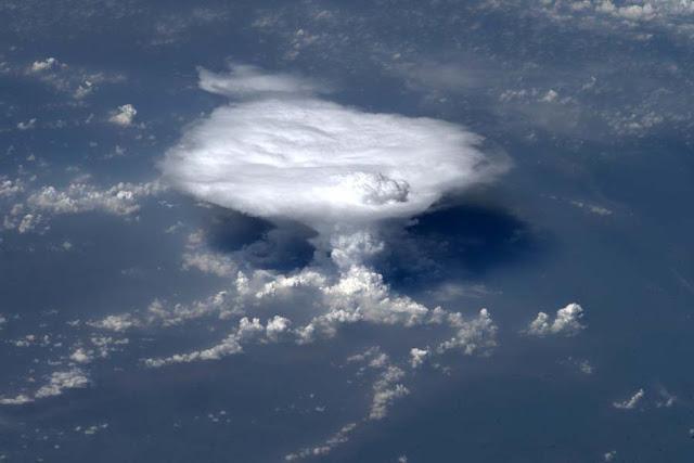 Εντυπωσιακή φωτογραφία της NASA από καταιγίδα στην κεντρική Ινδία.