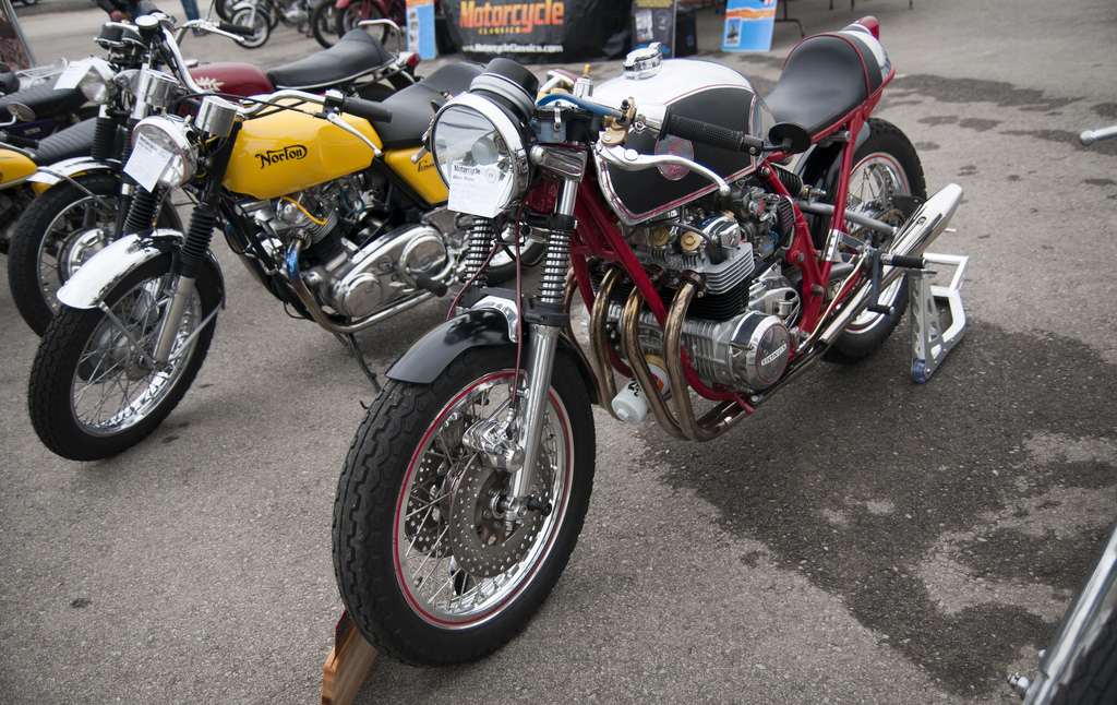 Vintage Motorcycle Races 109