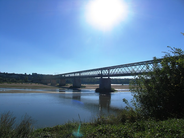 Bridge over the Loire at Montsoreau