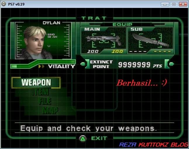 Cara mudah dan cepat menggunakan PEC(Psx Emulation Cheater) pada emulator PsxEven
