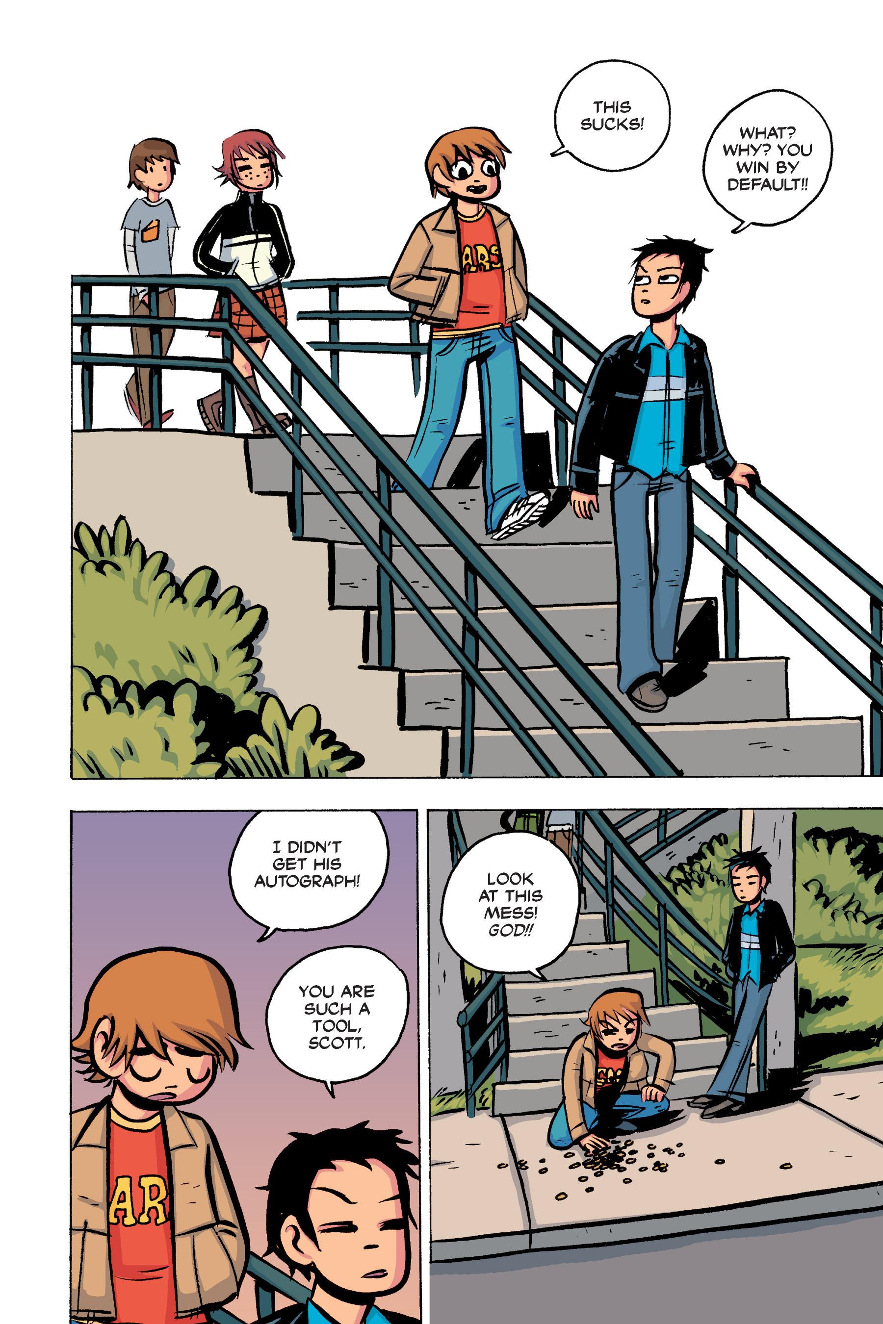 Read online Scott Pilgrim comic -  Issue #2 - 121