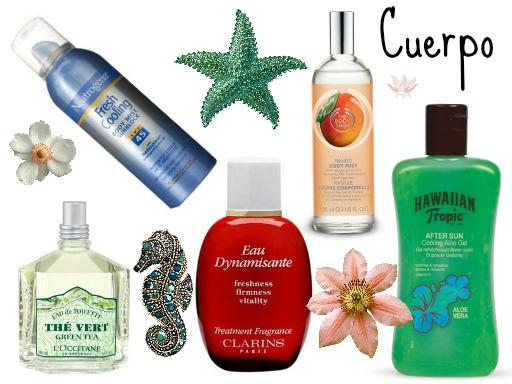 productos favoritos para el verano