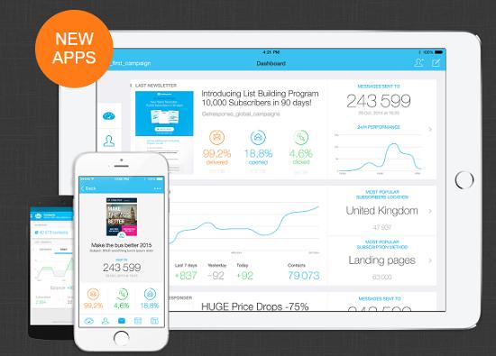 GetResponse apps