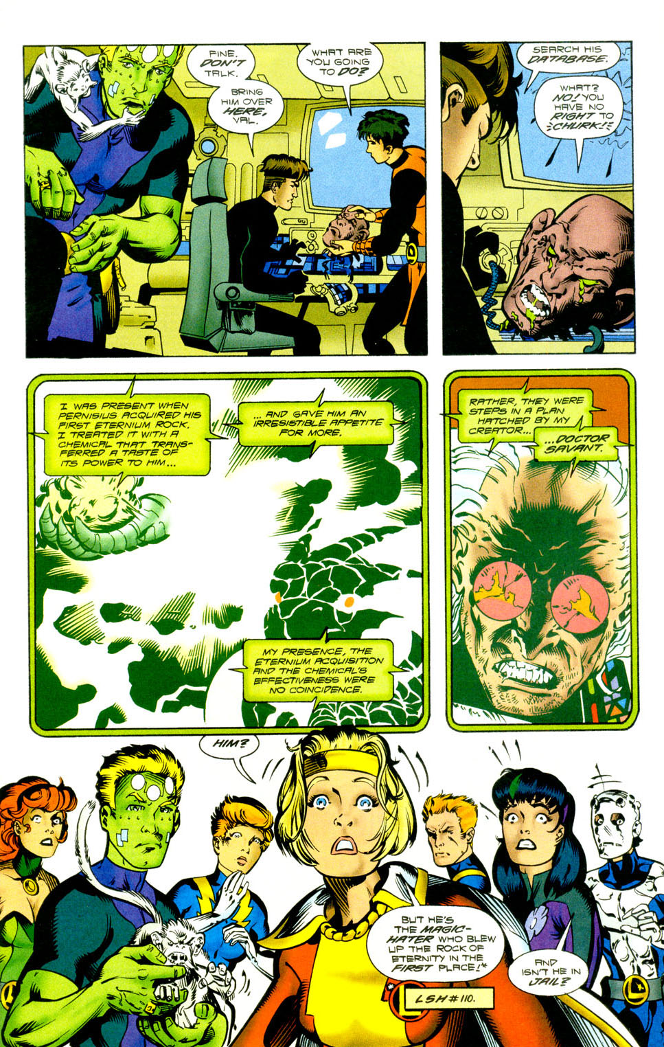 Legion of Super-Heroes (1989) 118 Page 7