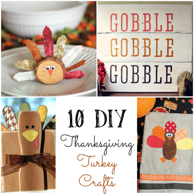 10 super cute DIY turkeys you can make!