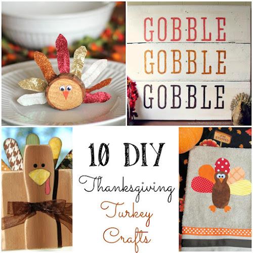 10 DIY Thanksgiving Turkey Crafts to Make