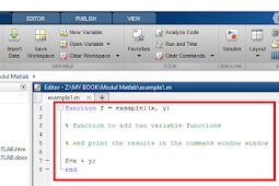 Creating a Function in MATLAB
