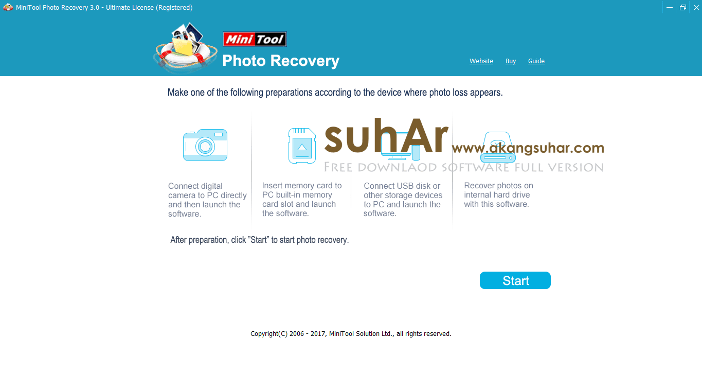 MiniTool Photo Recovery full version