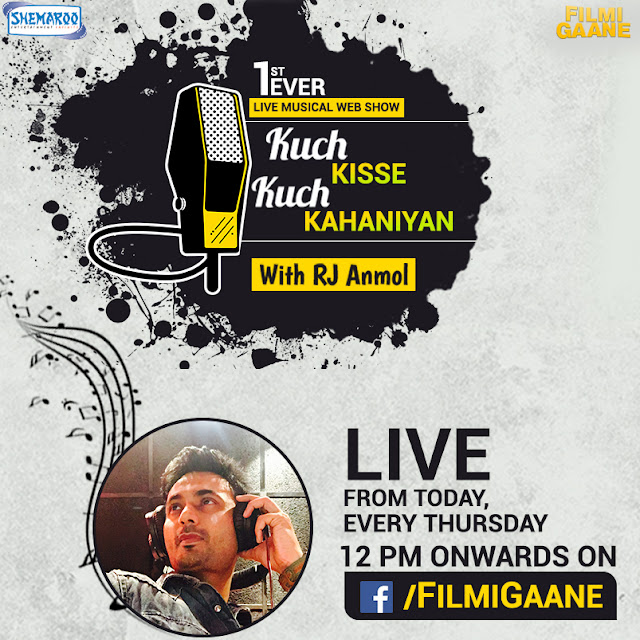 "Shemaroo Entertainment joins hands with Facebook to launch ""LIVE MUSIC BASED WEB SHOW""- #KuchKisseKuchKahaniyan"